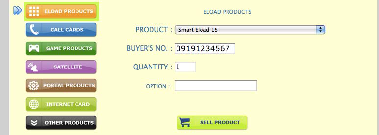 Load Central Eload Products List