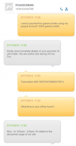Kenneth Francis E. Galang - Scammer - Payment Verification Request