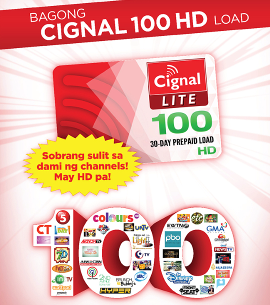 Loadcentral CIGNAL Lite Prepaid Load