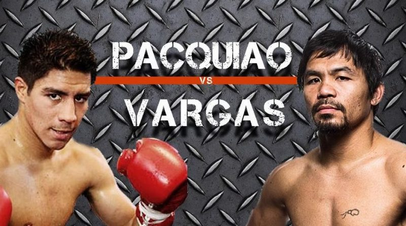 Pacquiao-Vargas match on November 6, 2016