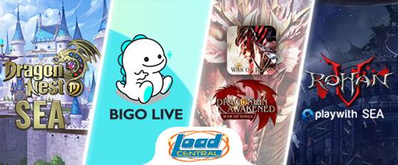Dragon Nest Mobile, Bigo Live, War of Rings and Rohan Online