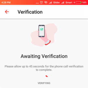 DENT awaiting verification
