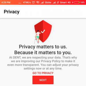 DENT Privacy