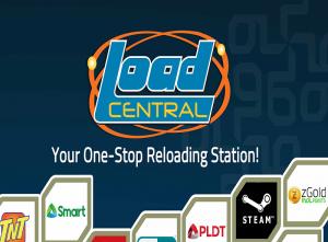 LoadCentral Logo blue background