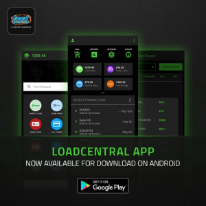 LoadCentral Android App 2019-Oct-09 Version