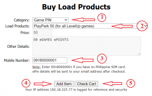 How to buy PlayPark load using GCash, PayMaya or Coins.Ph